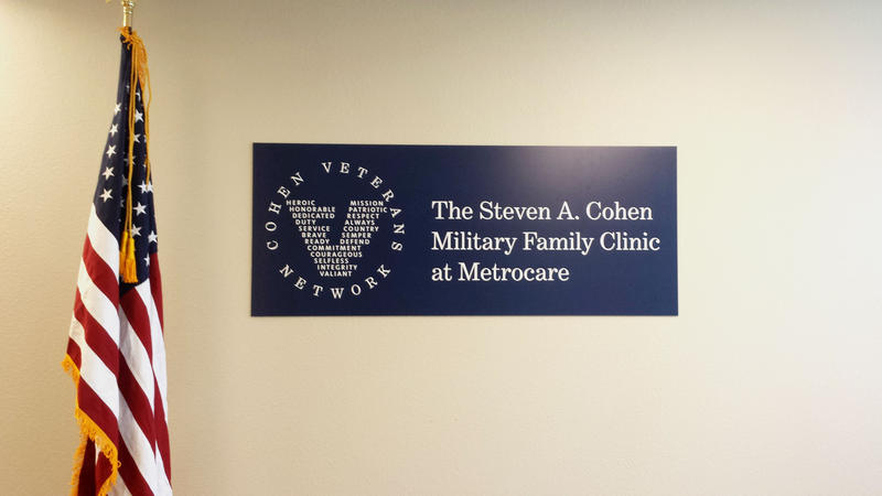 The Steven A. Cohen Military Family Clinic at MetroCare is the third clinic of its kind to open in the country. There are plans for at least 20 more.