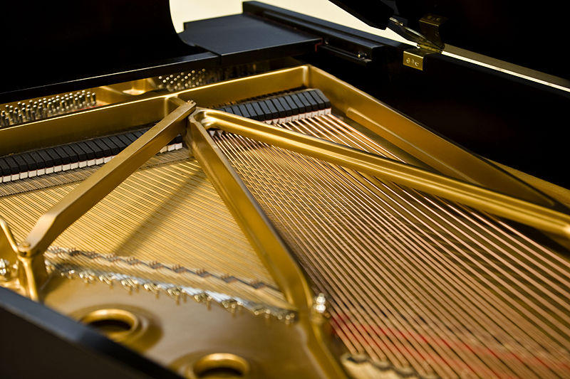 Steinway Grand Piano Iron Plates and Strings