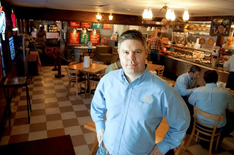 Roland Dickey, Jr., CEO and President of Dickey's Barbecue Pit