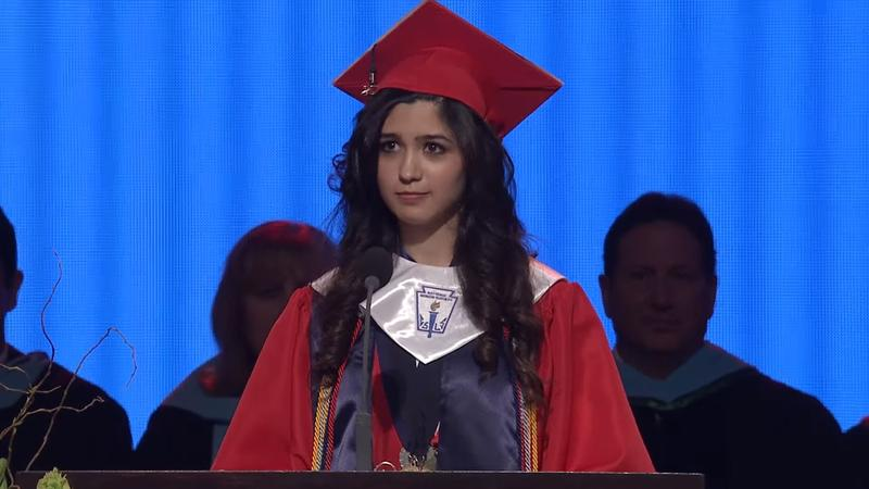 Larissa Martinez was the 2016 valedictorian of McKinney Boyd High School. At graduation, she disclosed her undocumented status.