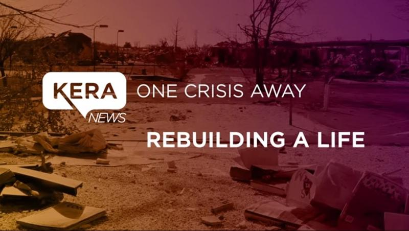 Videographer Thorne Anderson and KERA's One Crisis Away project earned first-place honors for best short in the quarterly multimedia contest of the National Press Photographers Association.