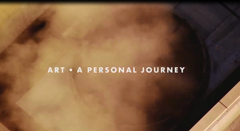 """Opening credits from """"Art – A Personal Journey With Quin Mathews."""""""