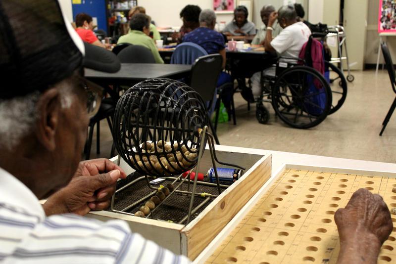 Bingo days at Handley Senior Center in Fort Worth are popular.