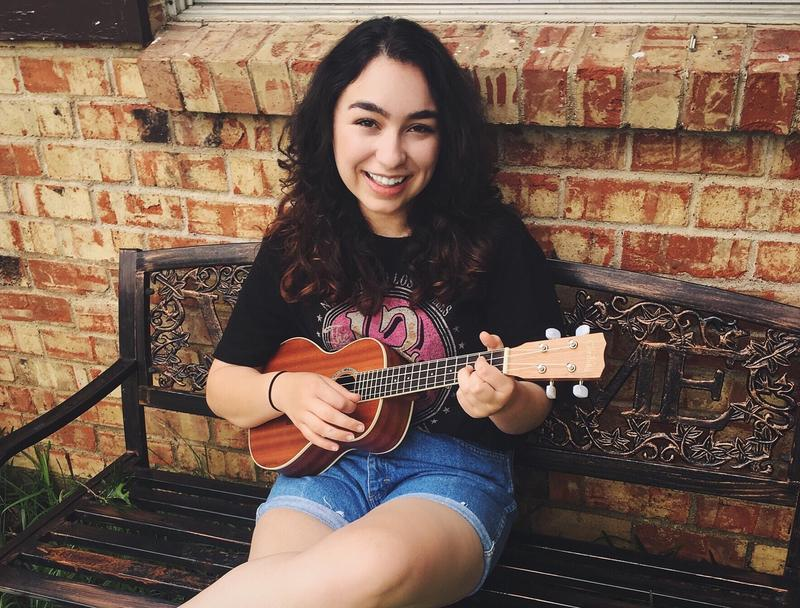 18-year-old Chelsea Mayo will compete this weekend for a chance to win $5000 and have her song published.