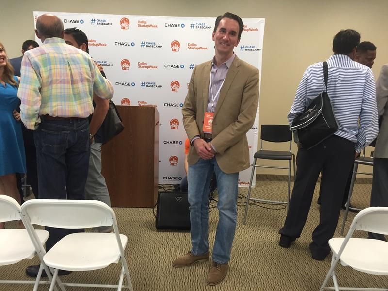 Hubert Zajicek CEO of Health Wildcatters at Dallas Startup Week 2016.