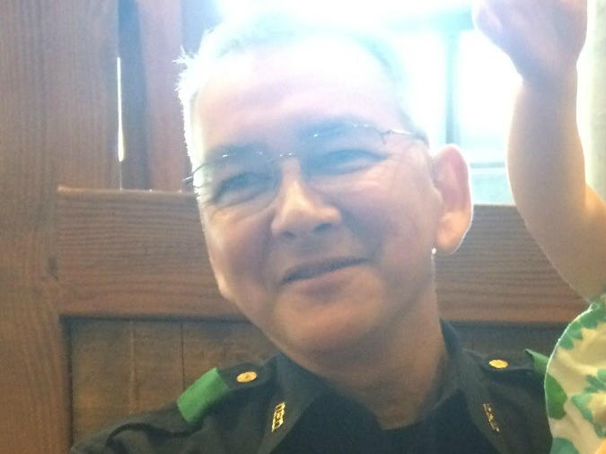Sgt. Michael Smith, 55, died Thursday when a gunman opened fire on police in Dallas.