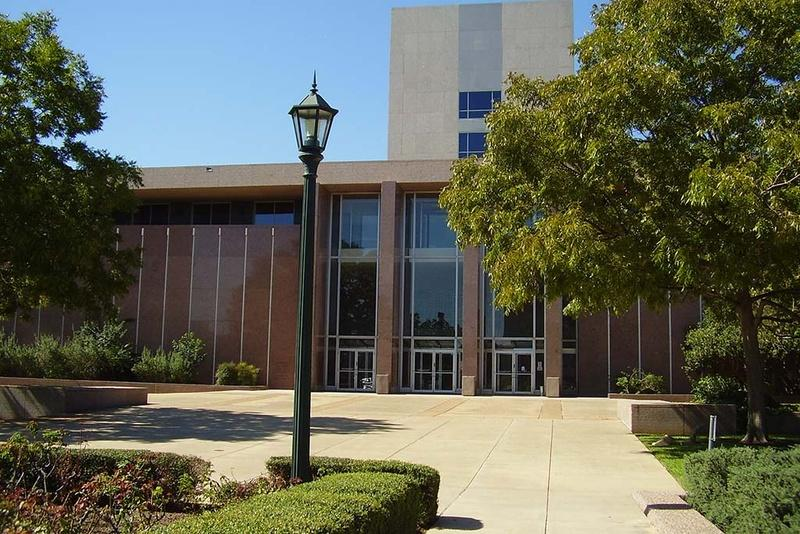 Texas Supreme Court building.