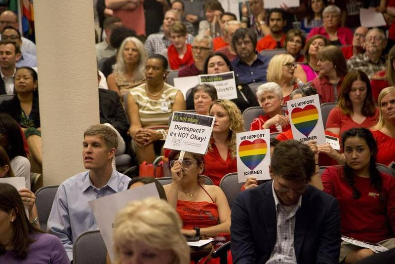 School board meetings were packed with opponents and supporters of the Fort Worth district's transgender guidelines.