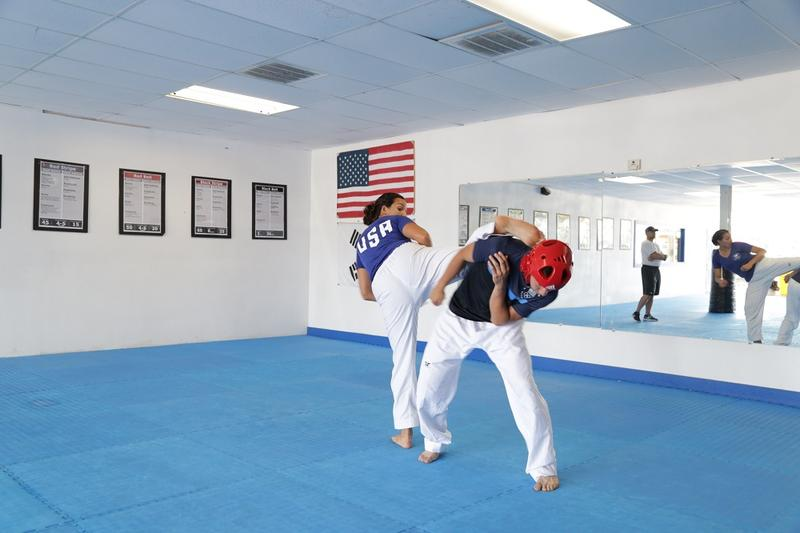 Jackie lives in Wylie and trains at her dad's taekwondo school in Garland.
