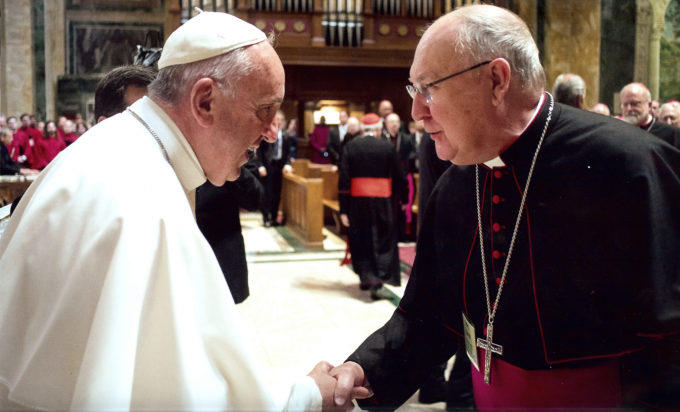 Pope Francis has named Bishop Kevin Farrell of the Catholic Diocese of Dallas to head the new Vatican office for families and laity.