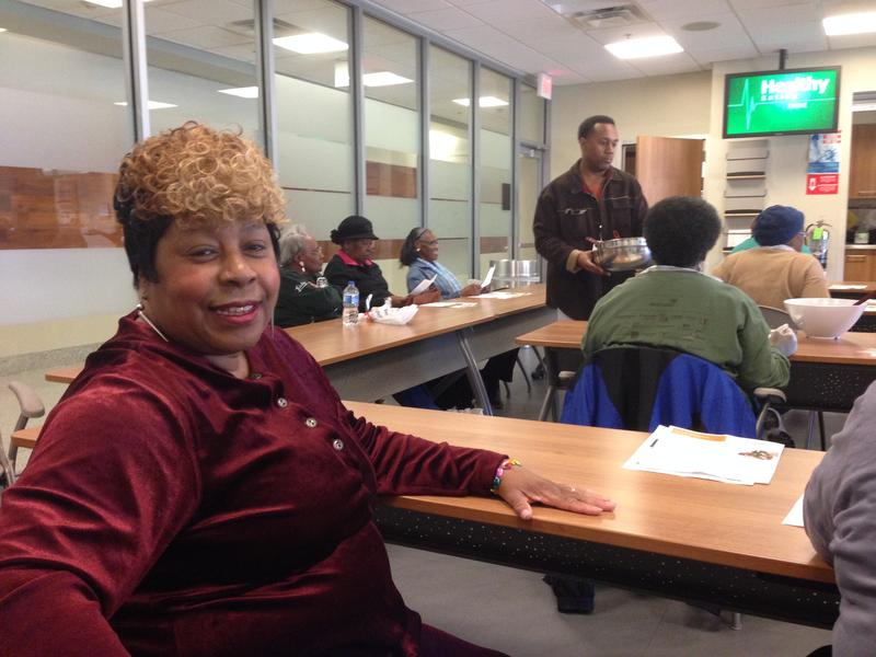Doris Woodson, a South Dallas native,  has been a member of DHWI since 2010. To help control her type 2 diabetes, Woodson participates in classes and is a member of the original Freedom Walkers DHWI walking club.