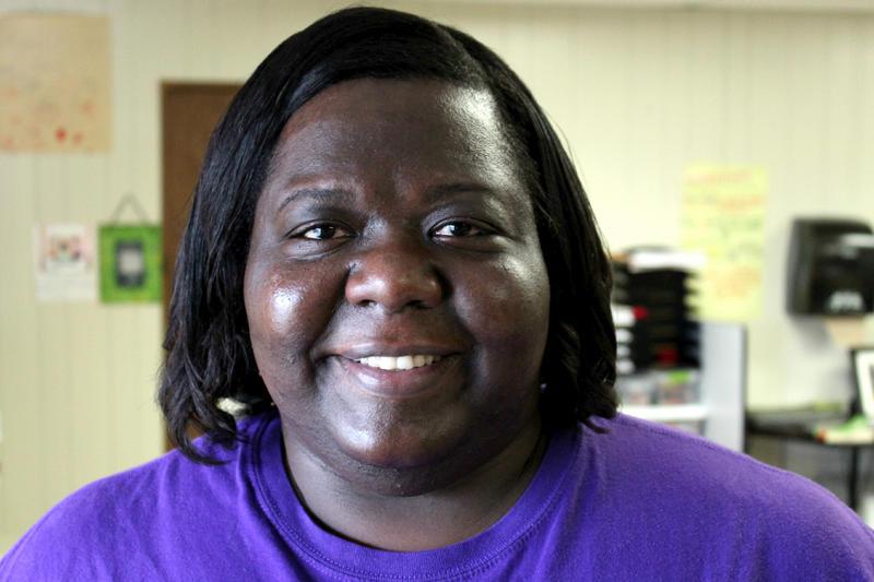 Kecia Dennis teaches eighth grade at Richland Middle School.