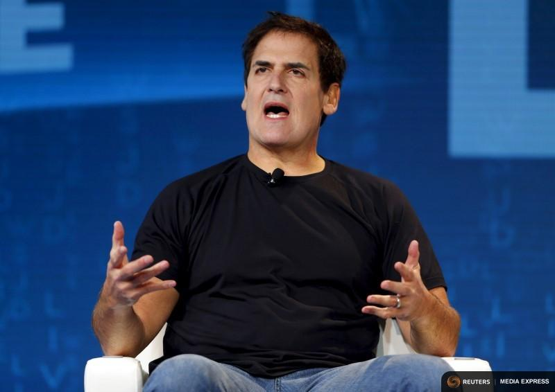 Mark Cuban, owner of the Dallas Mavericks, spoke during the Wall Street Journal Digital Live conference in October 2015.