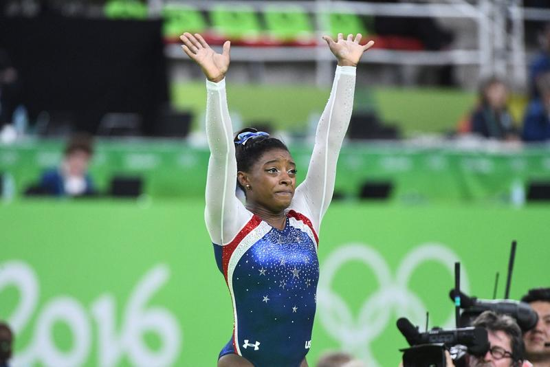 "Simone Biles, 19, from Spring, Texas won gold in both women's all-around gymnastics and as a part of ""The Final Five"" U.S. women's team."