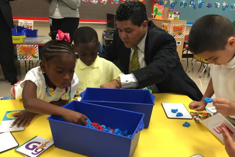 Richard Carranza is the new superintendent for Houston Independent School District.