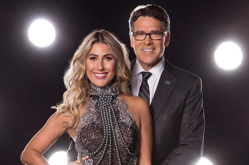 "Rick Perry and his dance partner Emma Slater were eliminated from ""Dancing with the Stars"" Tuesday night."