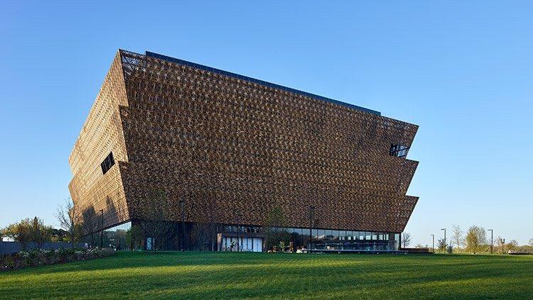 The Smithsonian National Museum of African American History and Culture was dedicated on Saturday in Washington, D.C.