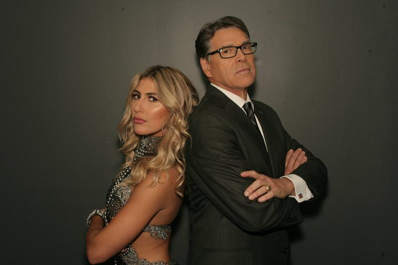 "Former Gov. Rick Perry and his ""Dancing With The Stars"" partner, Emma Slater."