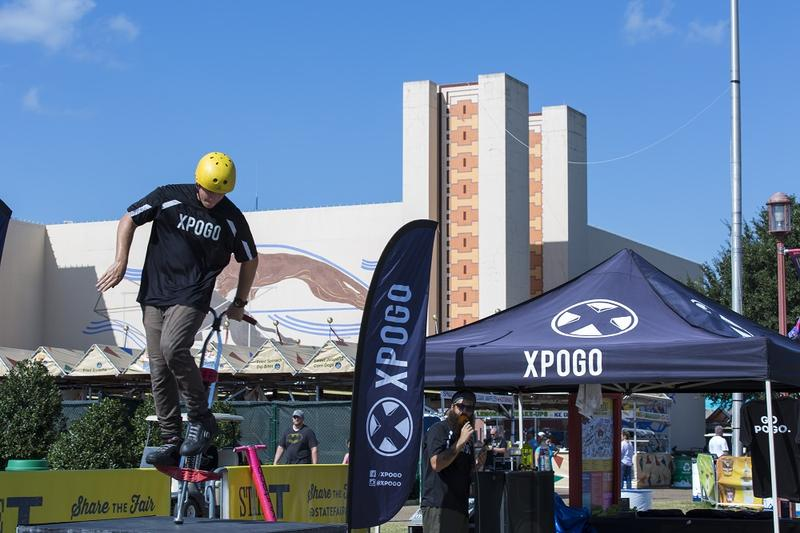 Xpogo athletes hold more than a dozen pogo-related world records.
