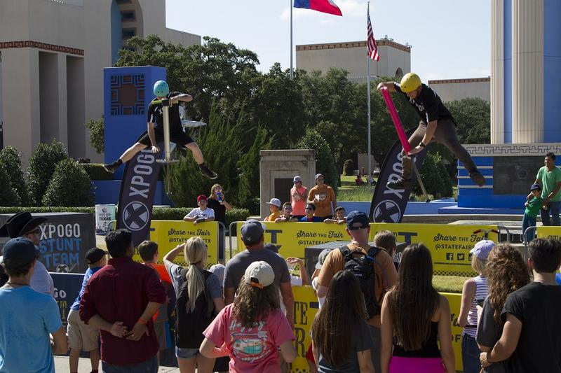 Michael Mena and Tone Staubs are extreme pogo stick athletes that travel the world performing tricks.