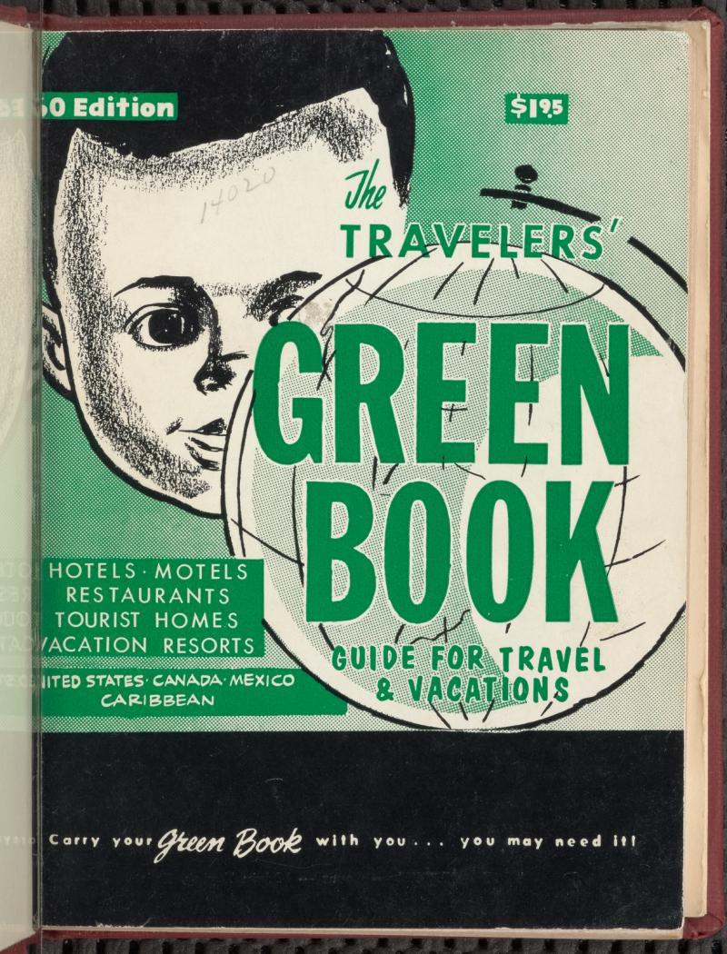 The 1960 edition of The Green Book, a travel guide that African Americans referenced for safe travel across the country and continent.