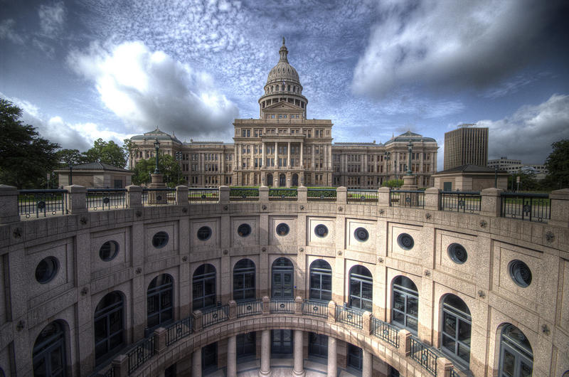 The Texas State Capitol in Austin