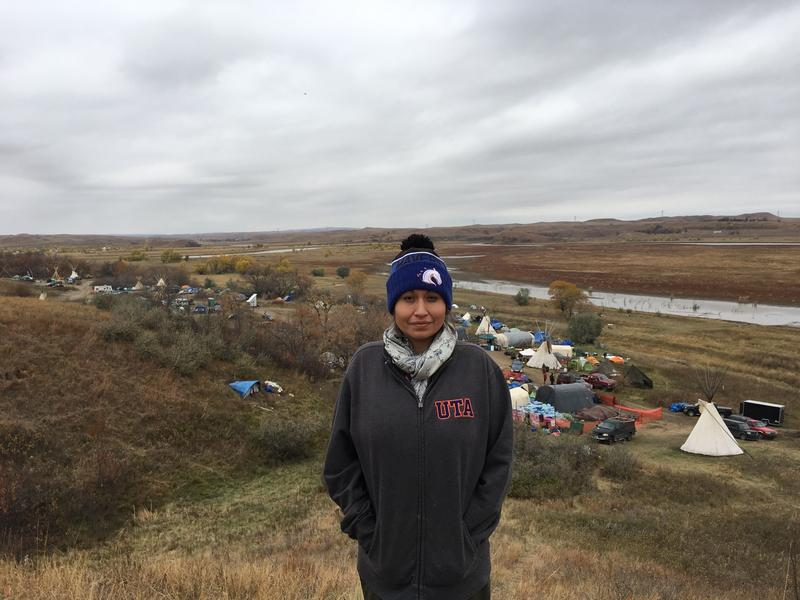 Stephanie Vielle spent a few days at the Standing Rock camp in North Dakota.