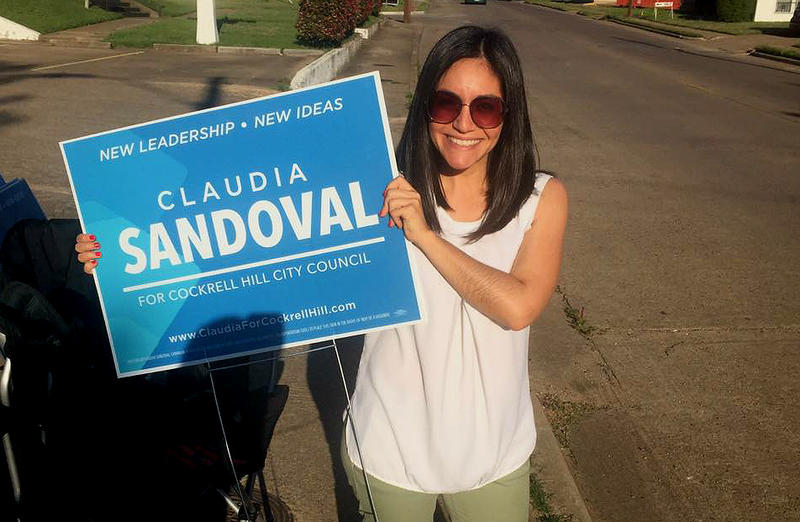 Claudia Sandoval is a member of the Cockrell Hill City Council.