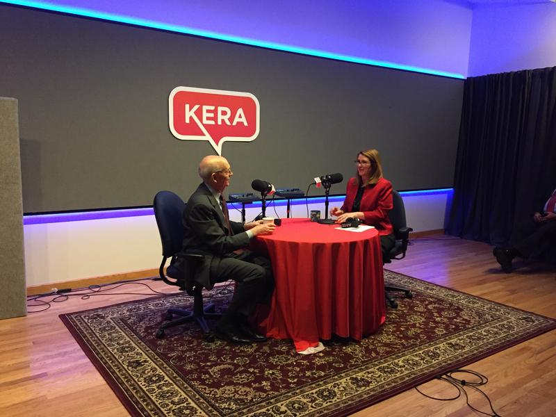 Krys Boyd interviews Stephen Breyer, associate justice on the U.S. Supreme Court.