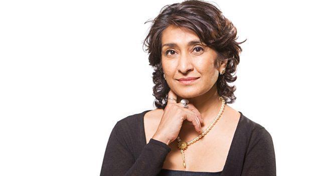 Razia Iqbal, BBC Newshour host.