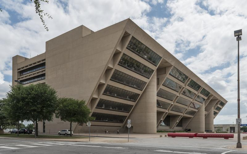 Dallas City Hall in 2014.