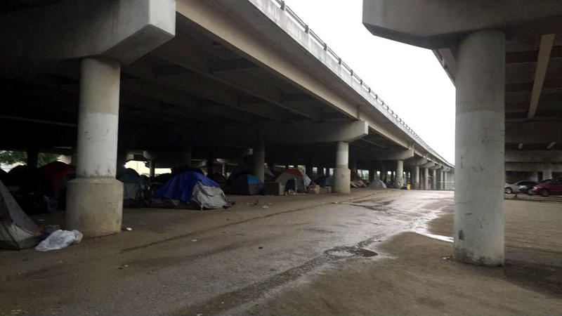 Dallas shut down Tent City, the 300-person homeless camp under Interstate 45, last May.