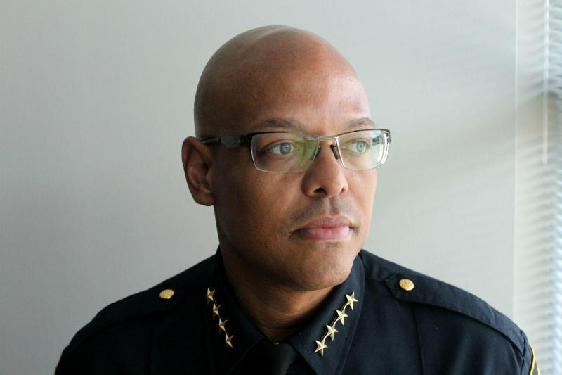 Fort Worth Police Chief Joel Fitzgerald