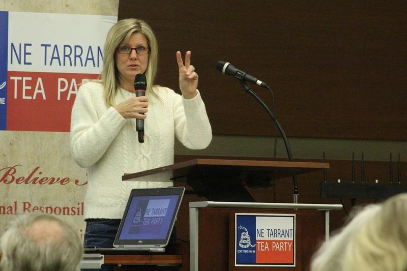 Julie McCarty is president of the Northeast Tarrant Tea Party.