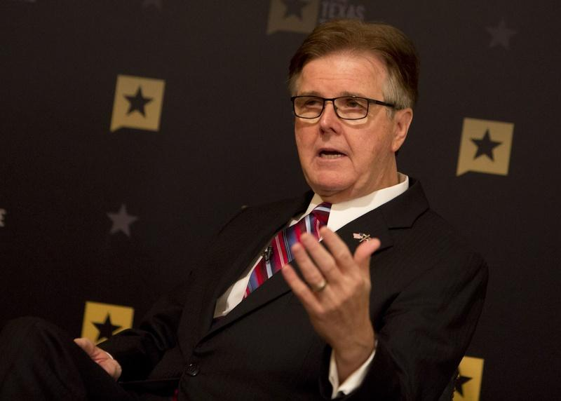 Lt. Gov. Dan Patrick during January 11, 2017 Tribune Conversation.