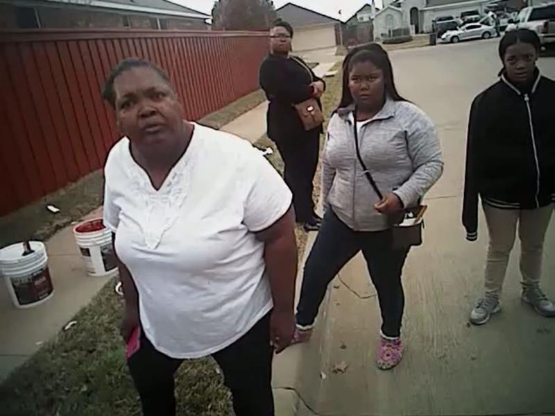 Bodycam footage of the arrest of Jacqueline Craig and her two daughters on Dec. 21 in a Fort Worth neighborhood was released Thursday by Craig's attorneys.