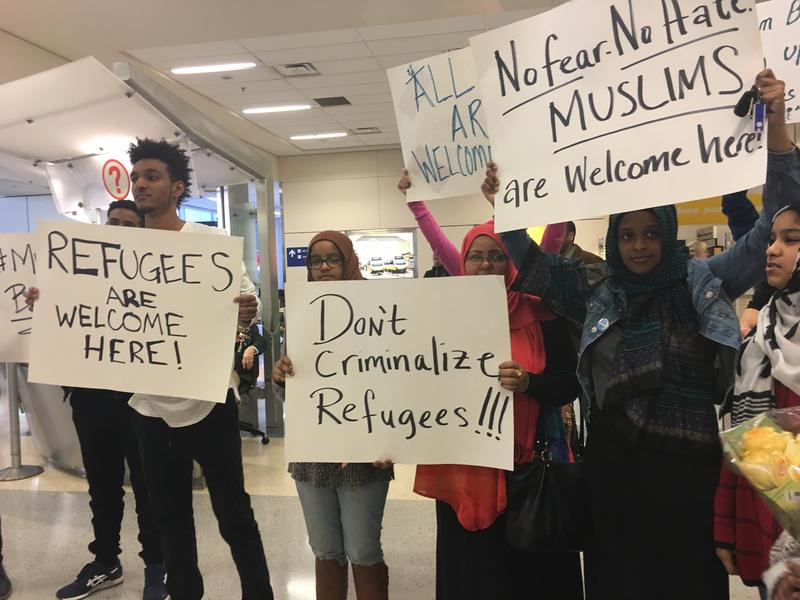 Families of travelers detained at DFW Airport over the weekend spent hours waiting for the loved ones.
