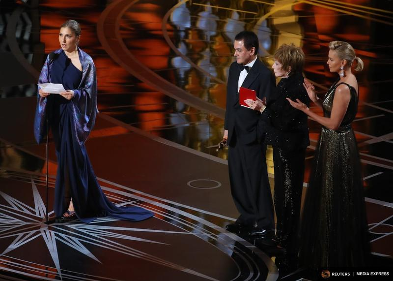 "Anousheh Ansari is an Iranian-American engineer from North Texas. She and former NASA scientist Firouz Naderi accepted the Oscar for ""The Salesman"" Sunday night on behalf on Iranian director Asghar Farhadi."