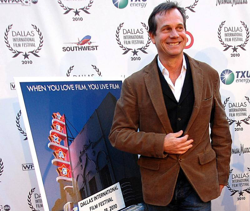 Bill Paxton is pictured at the Dallas International Film Festival in 2010.