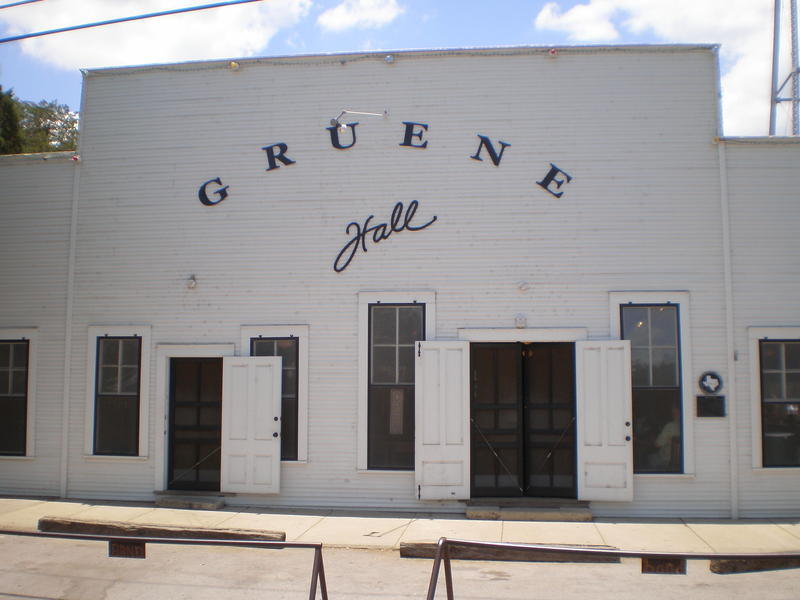 Gruene Hall, built in 1878, is Texas' oldest continually operating and most famous dance hall.