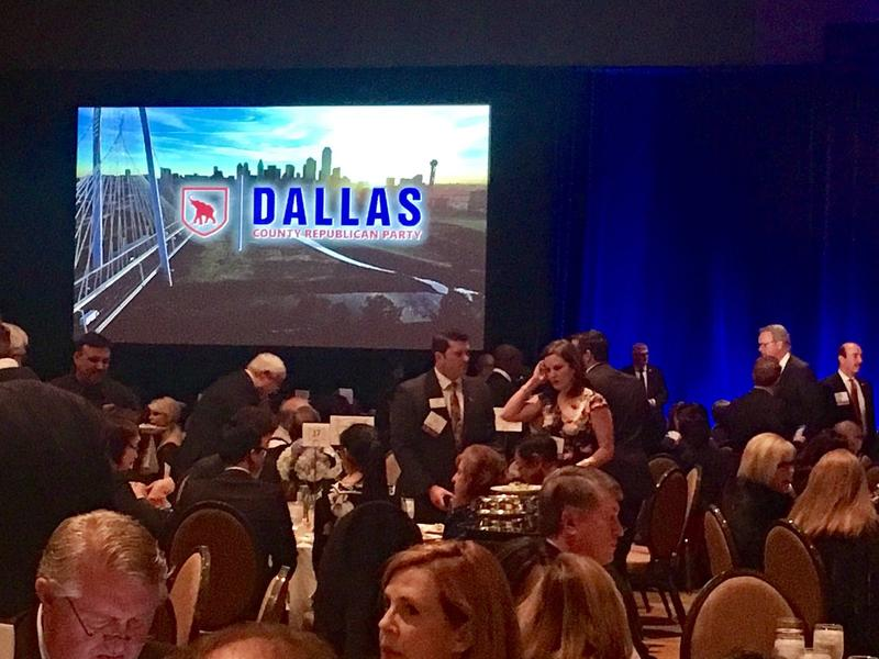 Dallas County Republican Party held its Reagan Day Dinner event on Saturday, March 11 at the Omni Hotel.