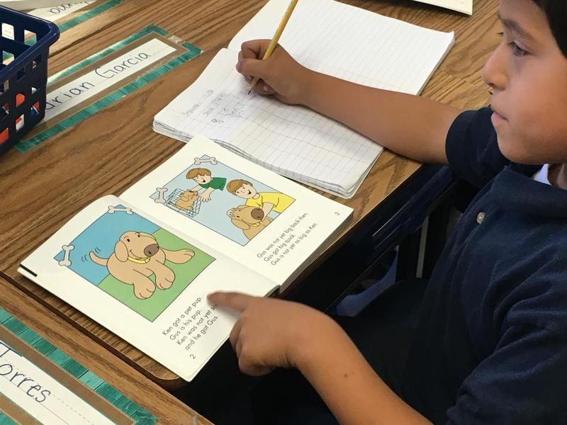Students at Oakhurst Elementary School in Fort Worth are outperforming their peers at other district schools in reading. File photo from October 2016.