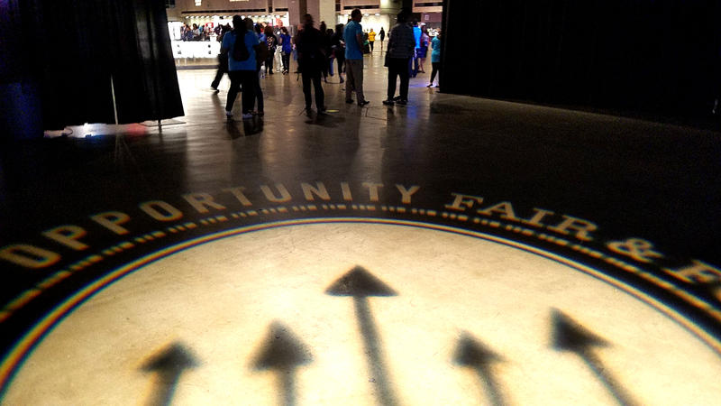 Employers at the first-ever Dallas Opportunity Fair were prepared to offer 1,700 jobs on the spot.