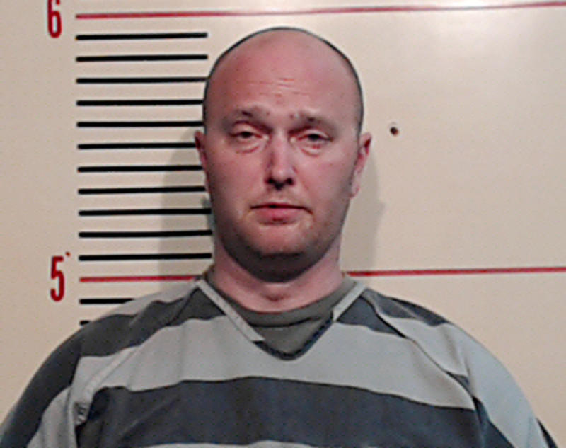 The mugshot of fired Balch Springs police officer Roy Oliver after being booked on a murder charge in May for fatally shooting 15-year-old Jordan Edwards on April 29.