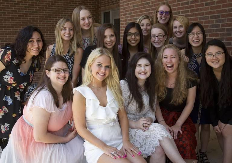 The top 2 percent of Arlington High's graduating class is all female students.