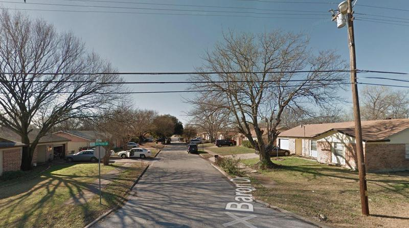 Balch Springs police Chief Jonathan Haber said that officers were responding to a call of drunken teenagers about 11 p.m. in the 12300 block of Baron Drive.