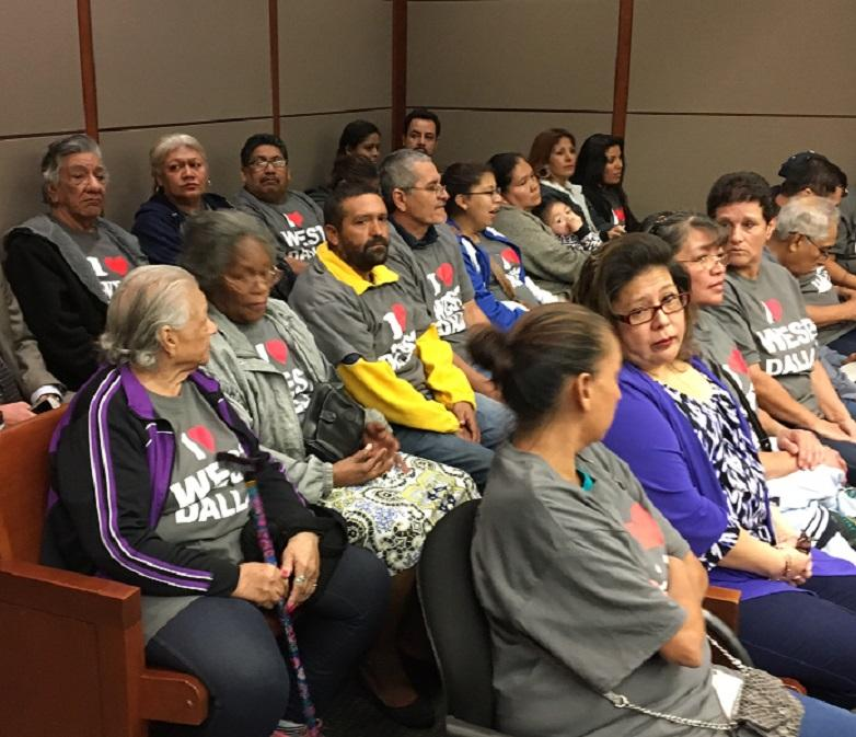 HMK tenants packed the gallery Friday morning in Judge Molberg's courtroom