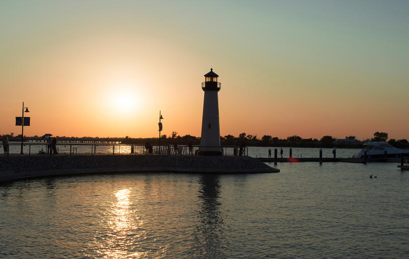 The Concert by the Lake Series in Rockwall is a free event held on the shores of Lake Ray Hubbard every summer.