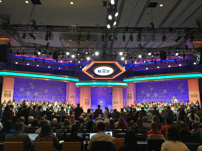 The 90th Scripps National Spelling Bee is held in Washington D.C. this year.