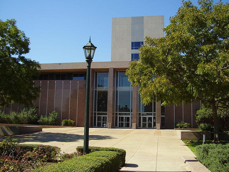The Supreme Court of Texas building.